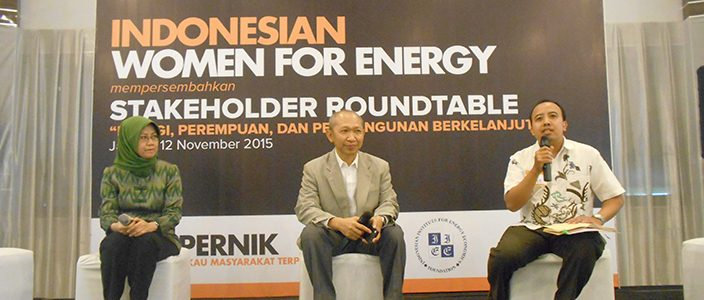 Stakeholder Roundtable: Indonesian Women for Energy