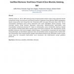 Gasifikasi Biomassa: Studi Kasus Proyek di Desa Munduk, Buleleng, Bali
