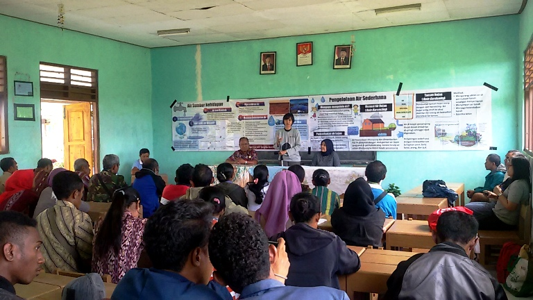 IIEE for community development around the site development plan Observatory in Kupang, Nusa Tenggara Timur