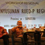 IIEE has actively involved in a series of regional workshop on the coaching for the preparation of regional energy planning (Rencana Umum Energi Daerah Provinsi/RUED-P)